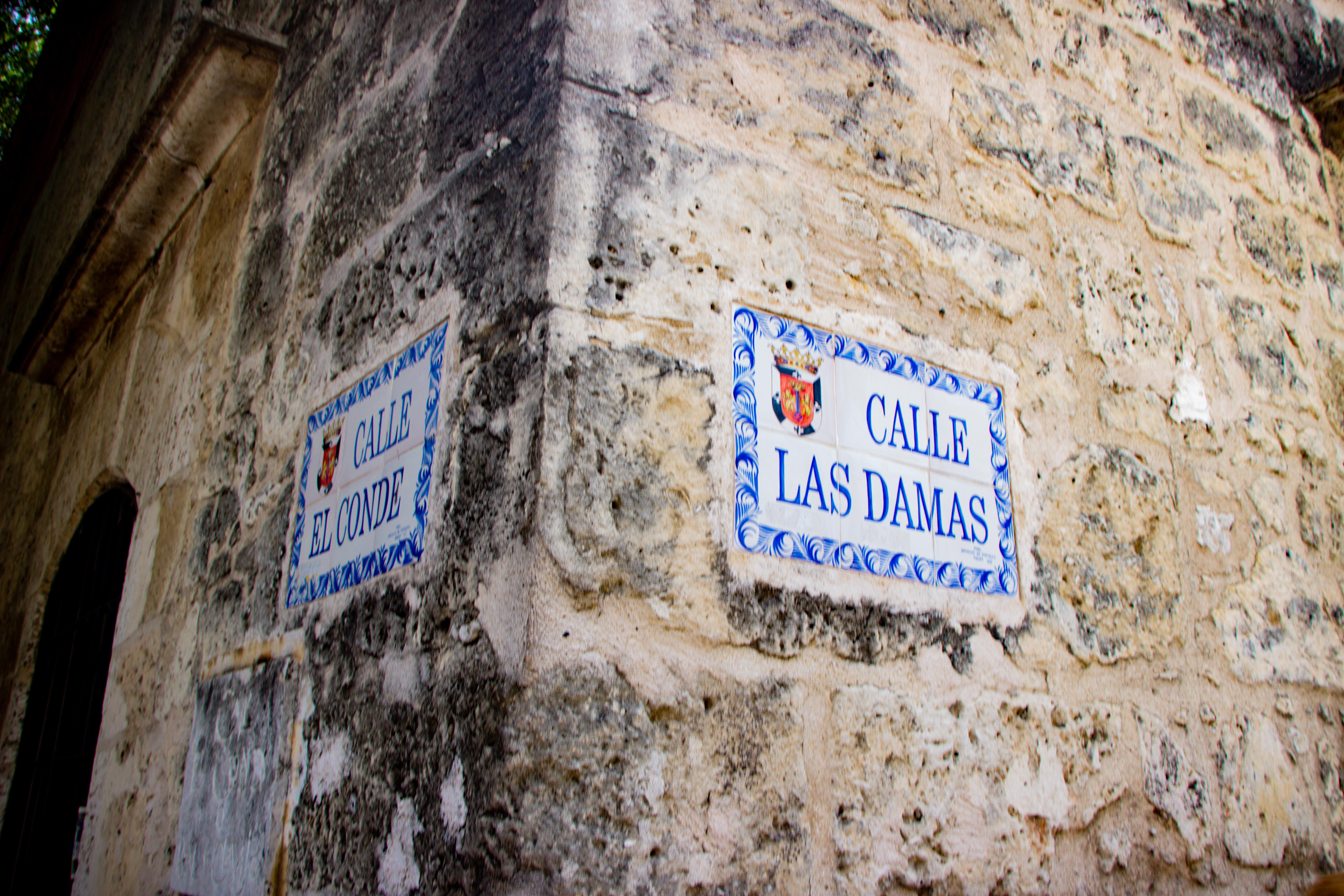 ZONA COLONIAL: famosa Esquina da Calle El Conde com Calle Las Damas