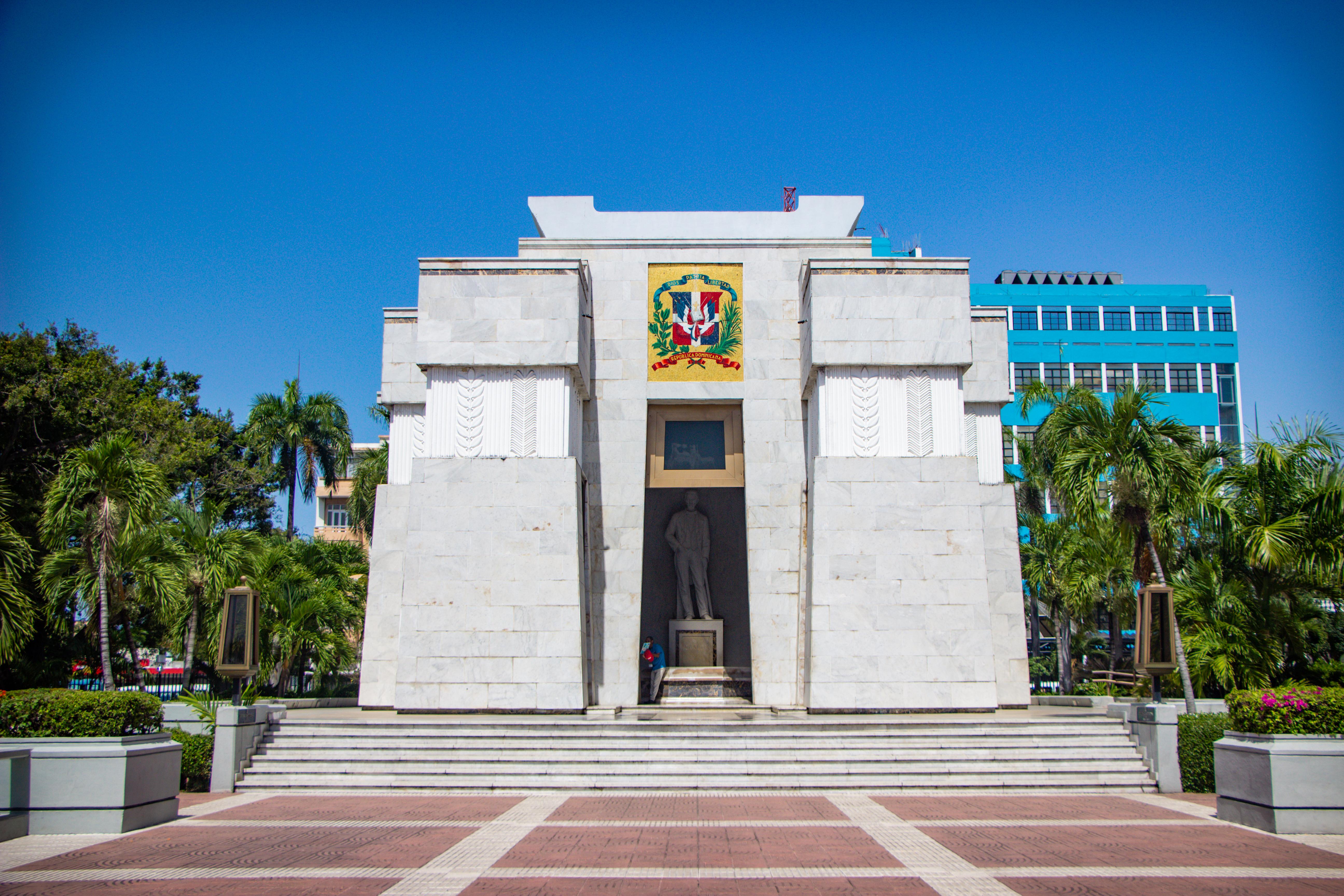Independencia Park lá está o Altar de la Patria