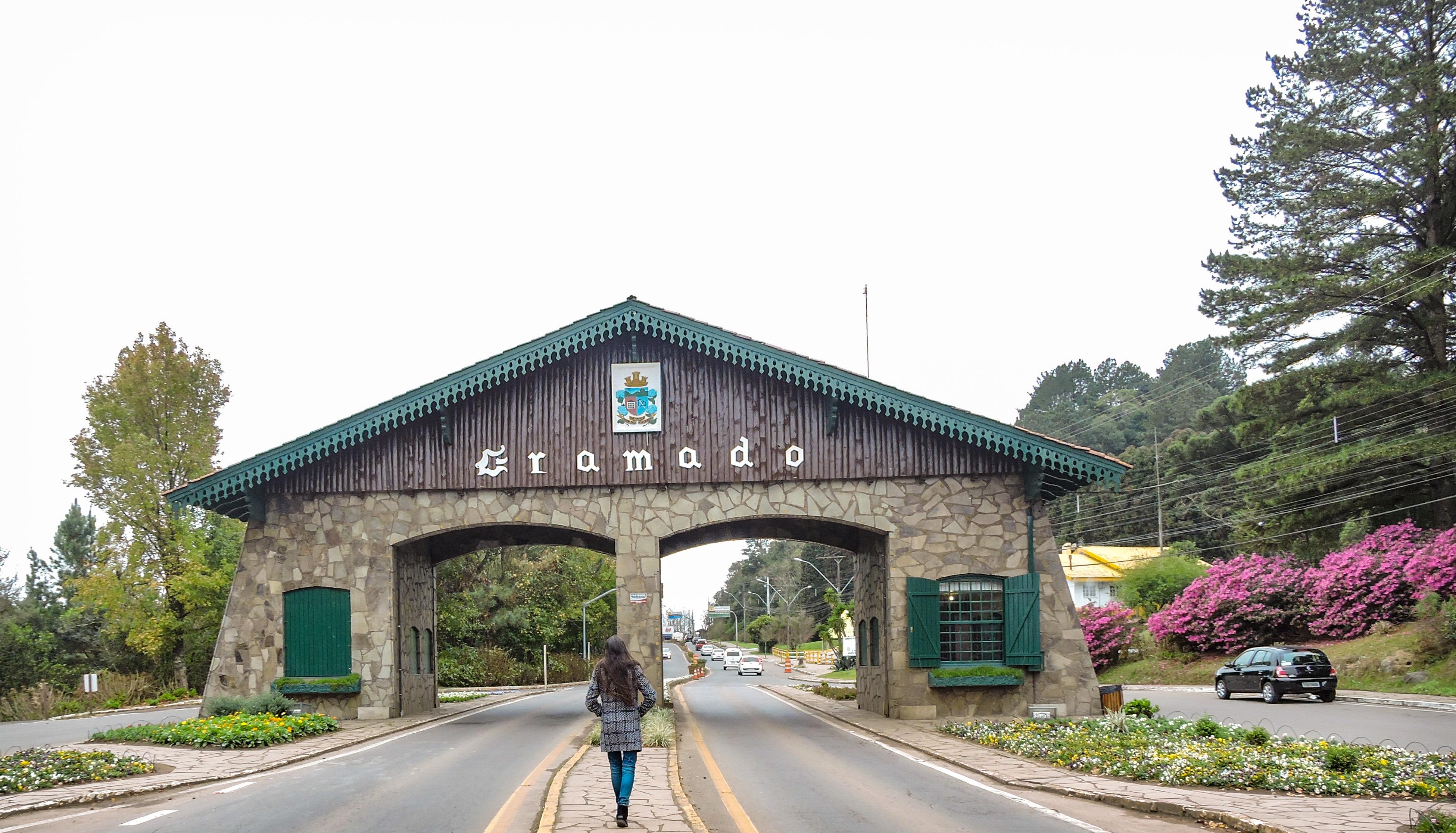 Pórtico Gramado Via Nova Petrópolis