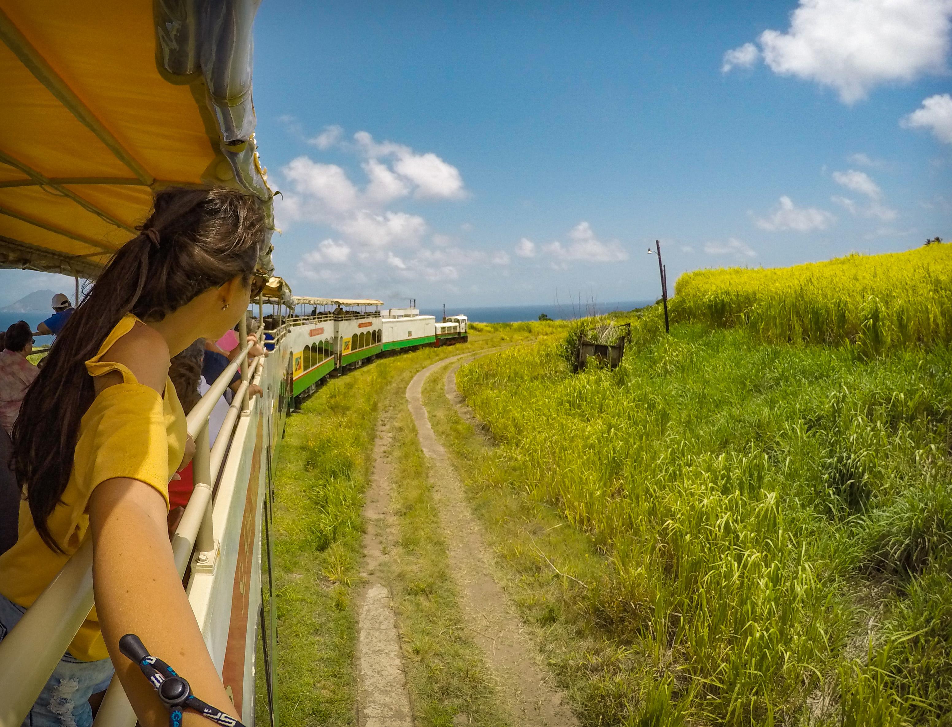 St. Kitts Scenic Railway passeio de trem