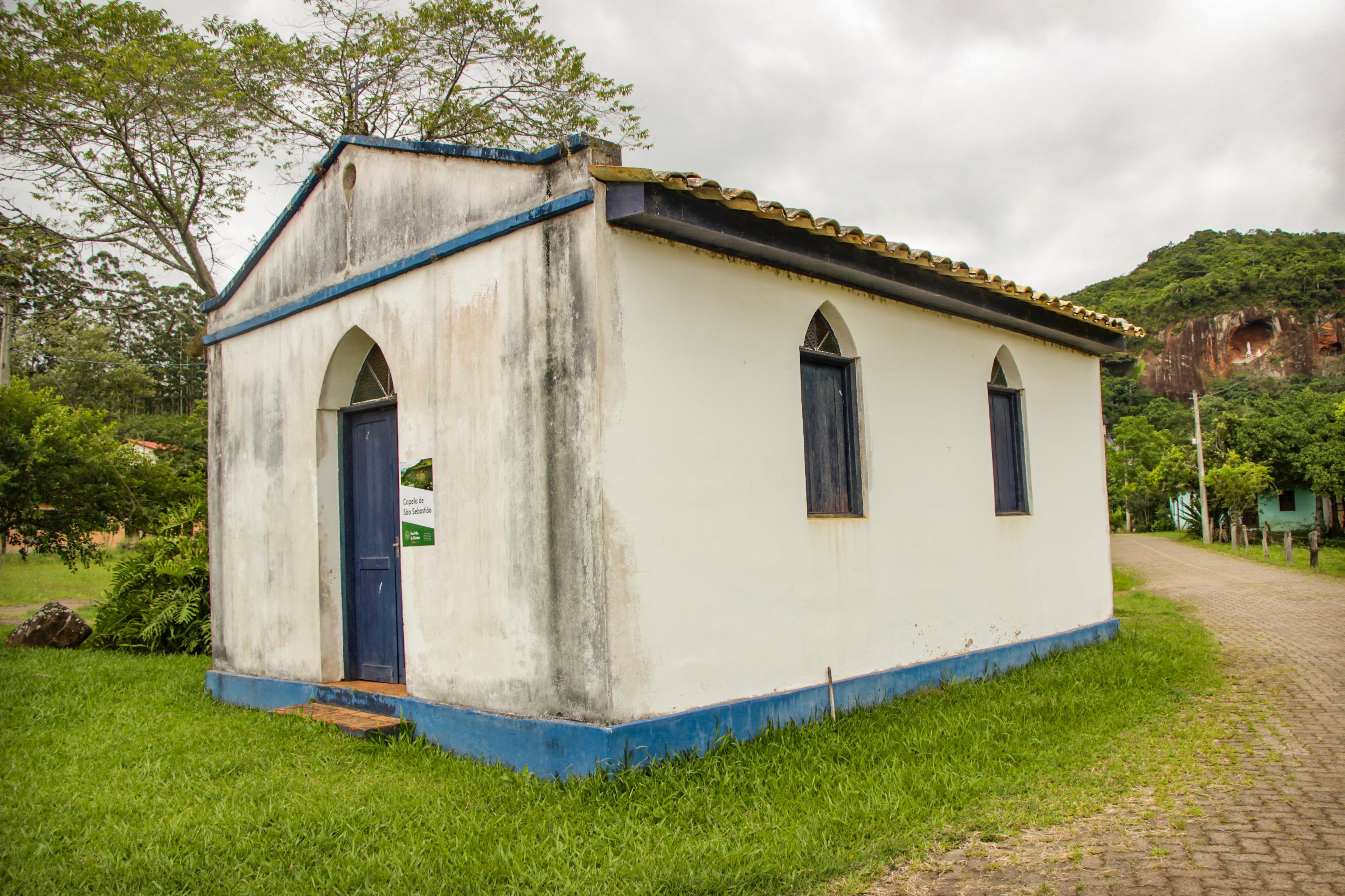 DOM PEDRO DE ALCÂNTARA Capela de São Sebastião Gruta Nossa Senhora de Lourdes