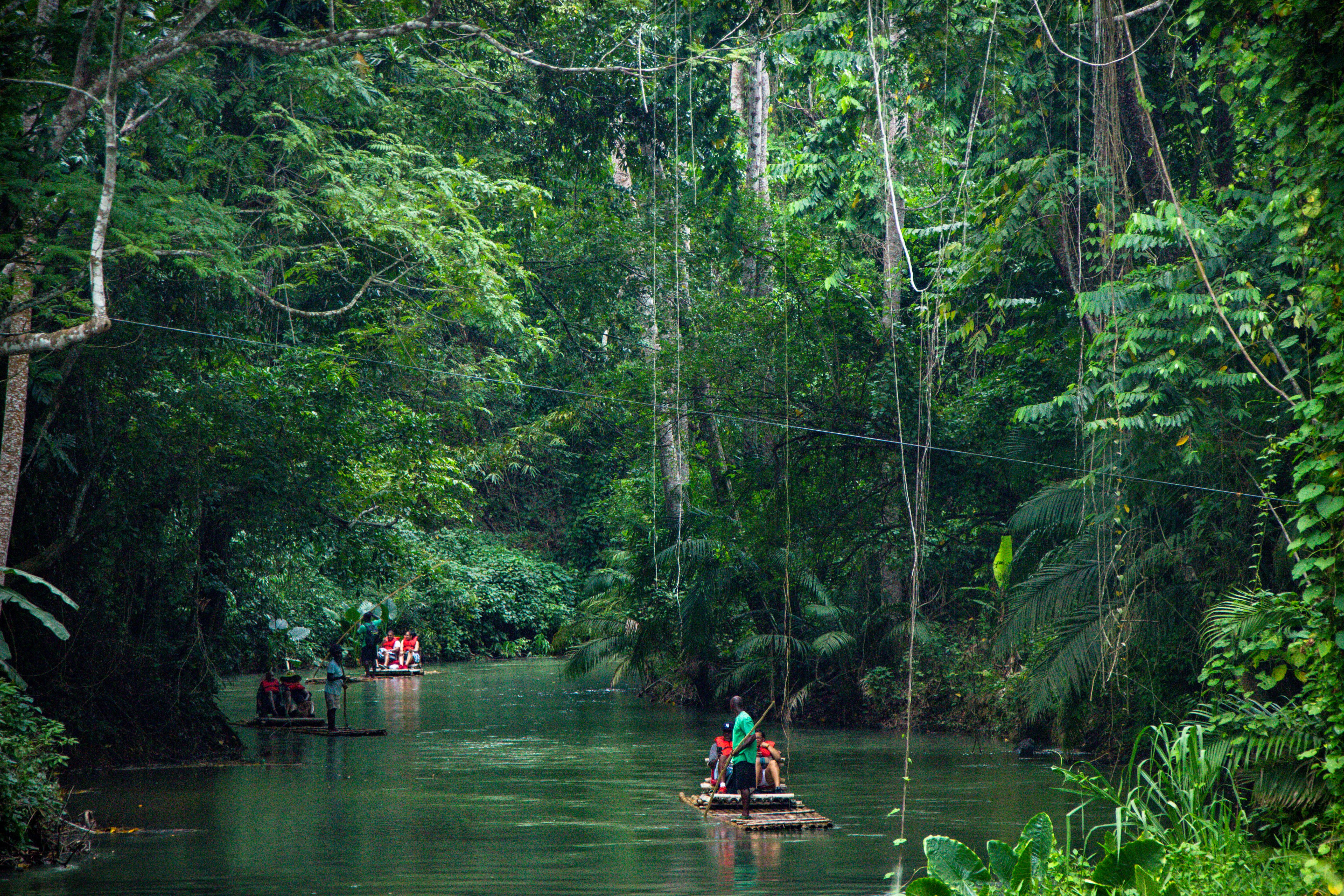 Martha Brae Rafting Village FALMOUTH Jamaica
