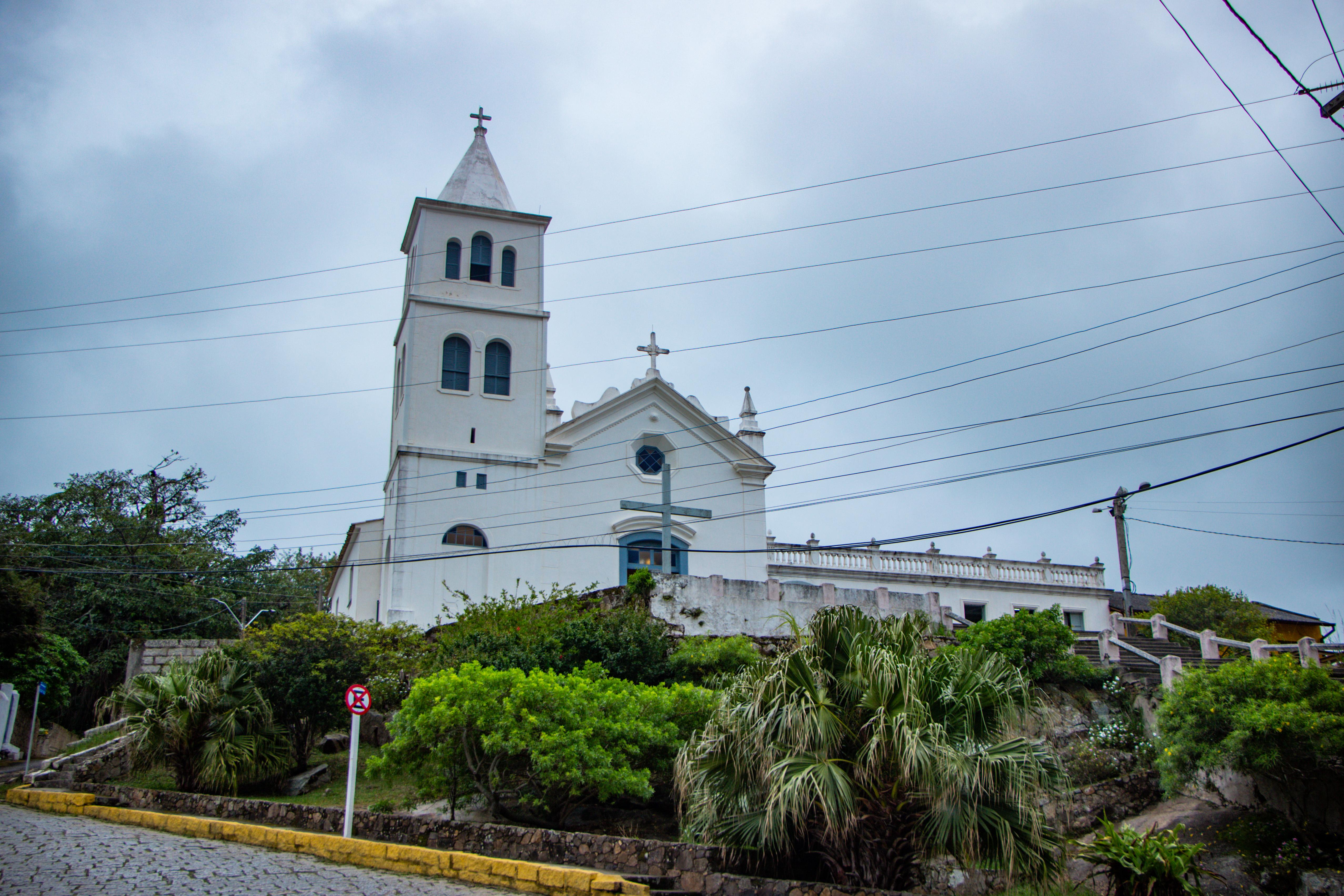 Paróquia São Joaquim centro histórico de garopaba