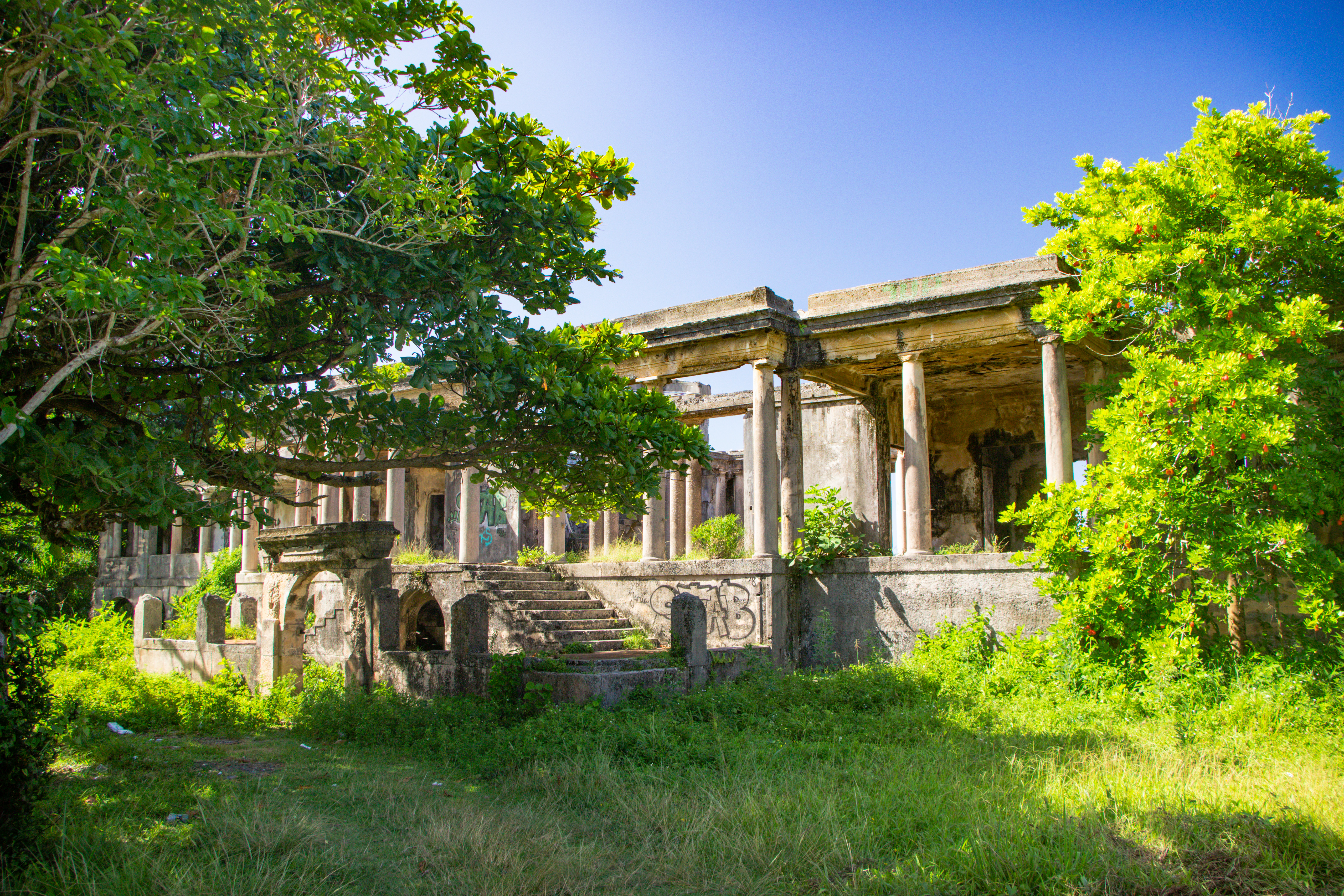 Folly Point Folly Ruins Port Antonio Jamaica