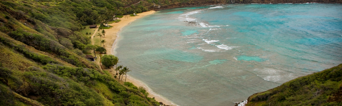 Hanauma Bay Oahu Hawaii Havaí