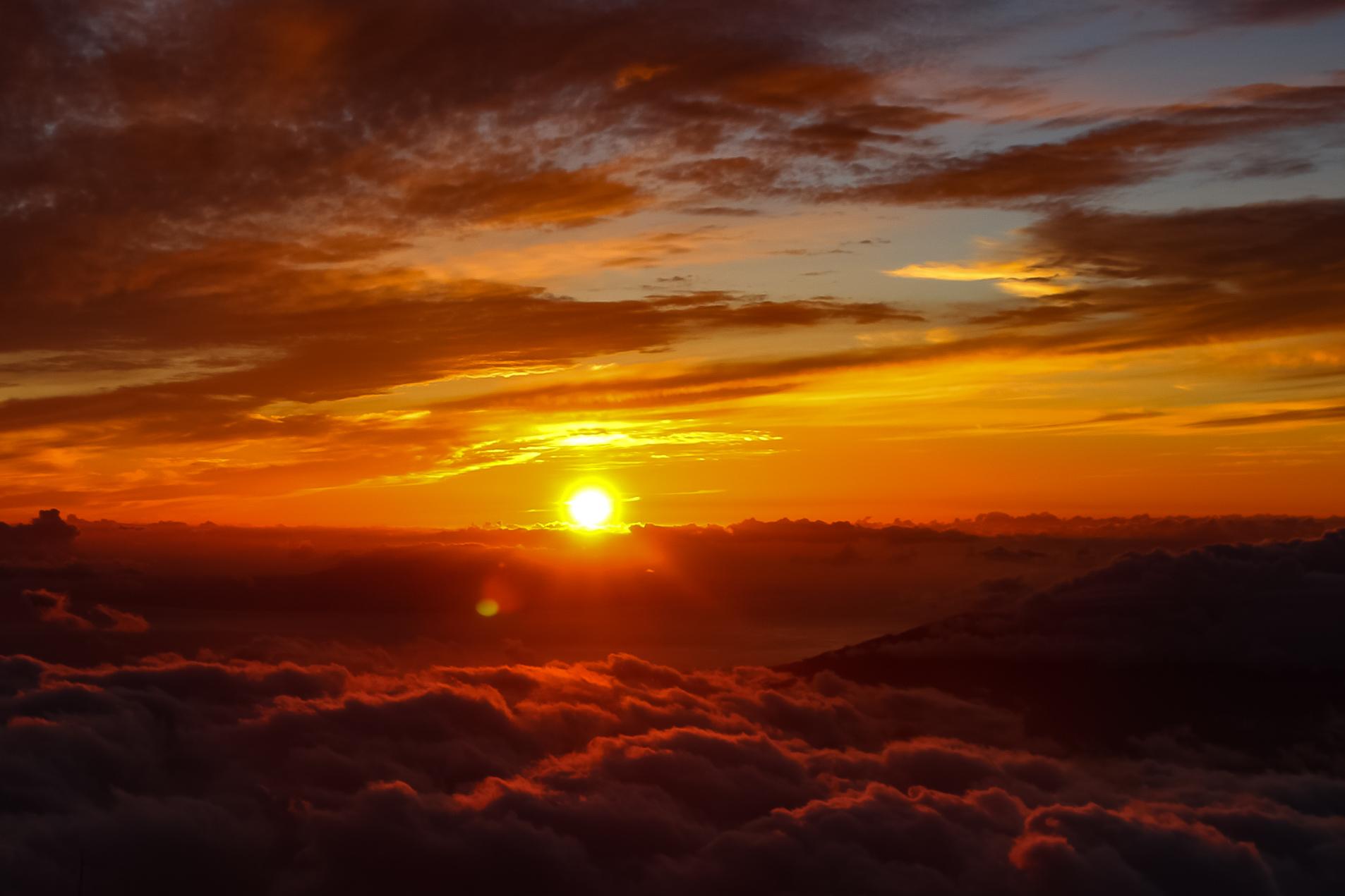 Vulcão Haleakala Maui Havaí