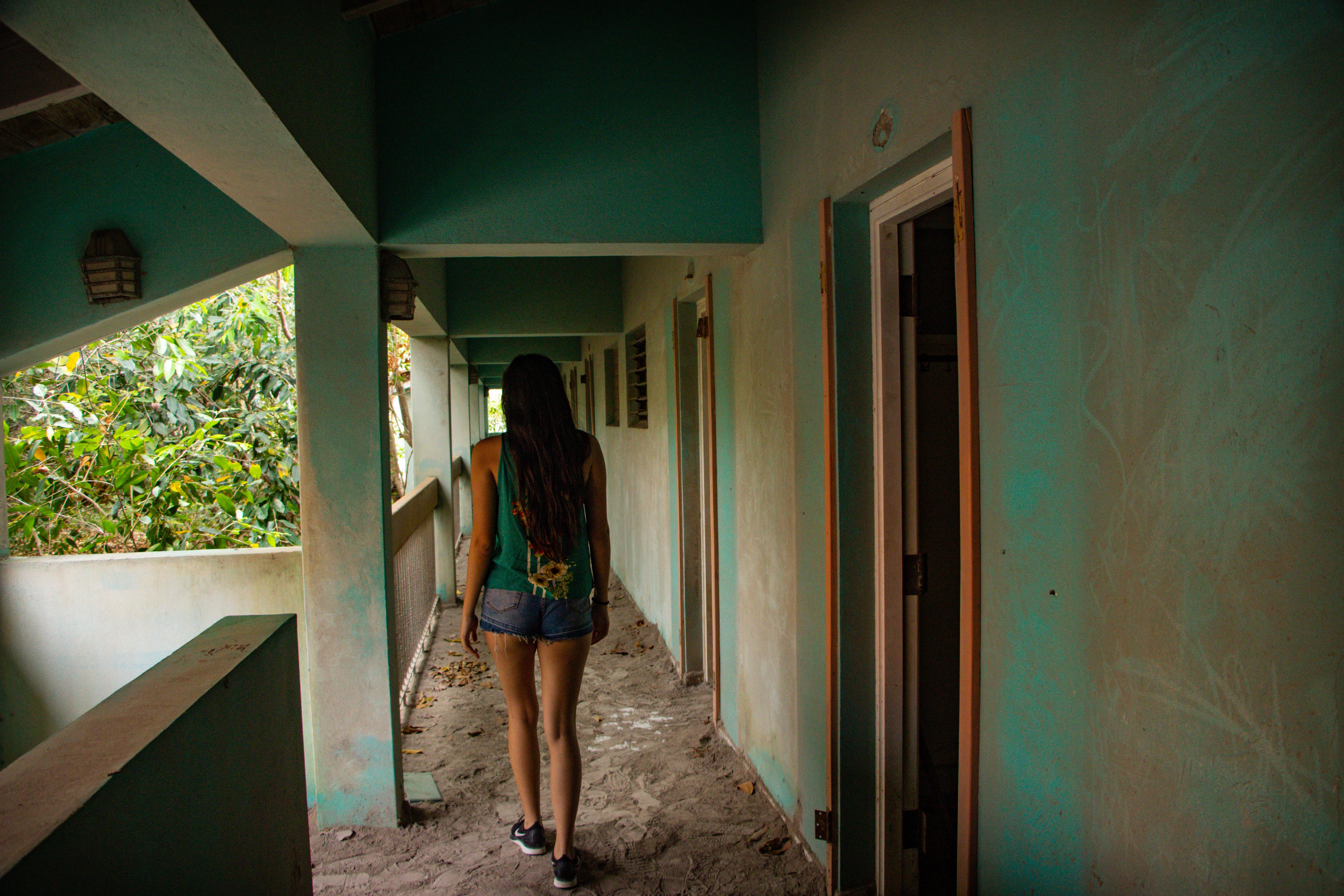 Plymonth montserrat hotel fantasma