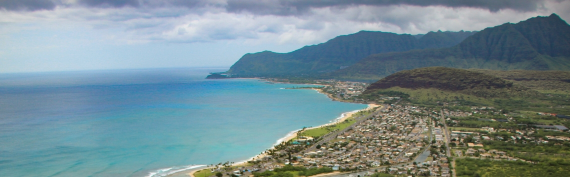 Pink Pillbox costa oeste havaí
