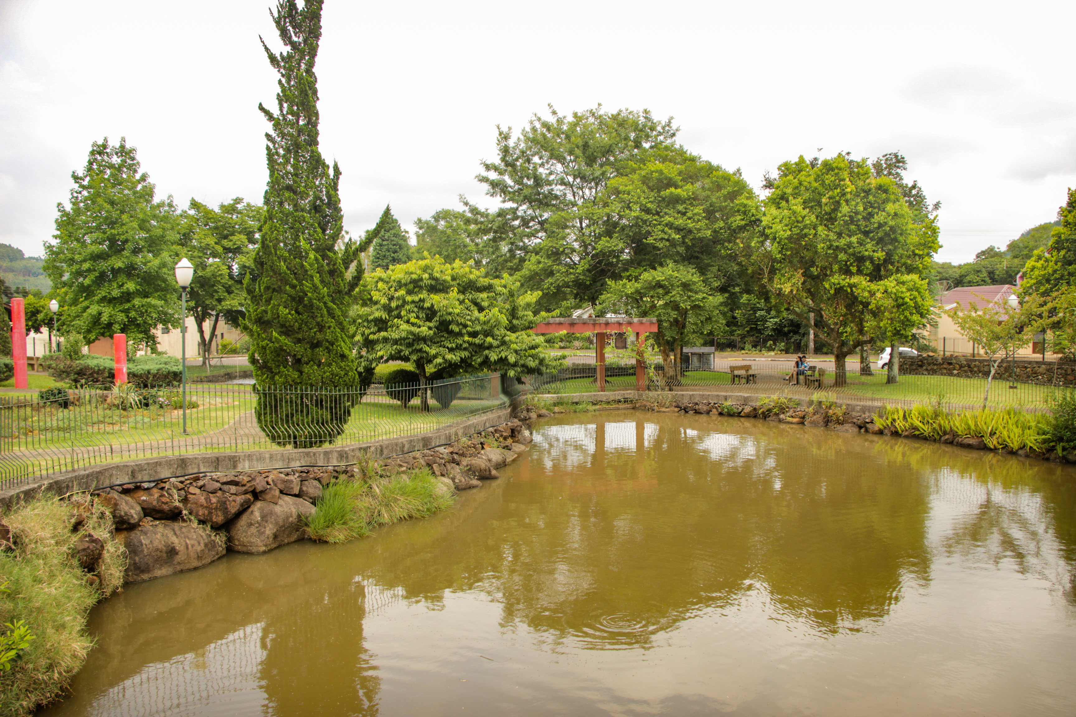 Praça das Águas Linha Nova