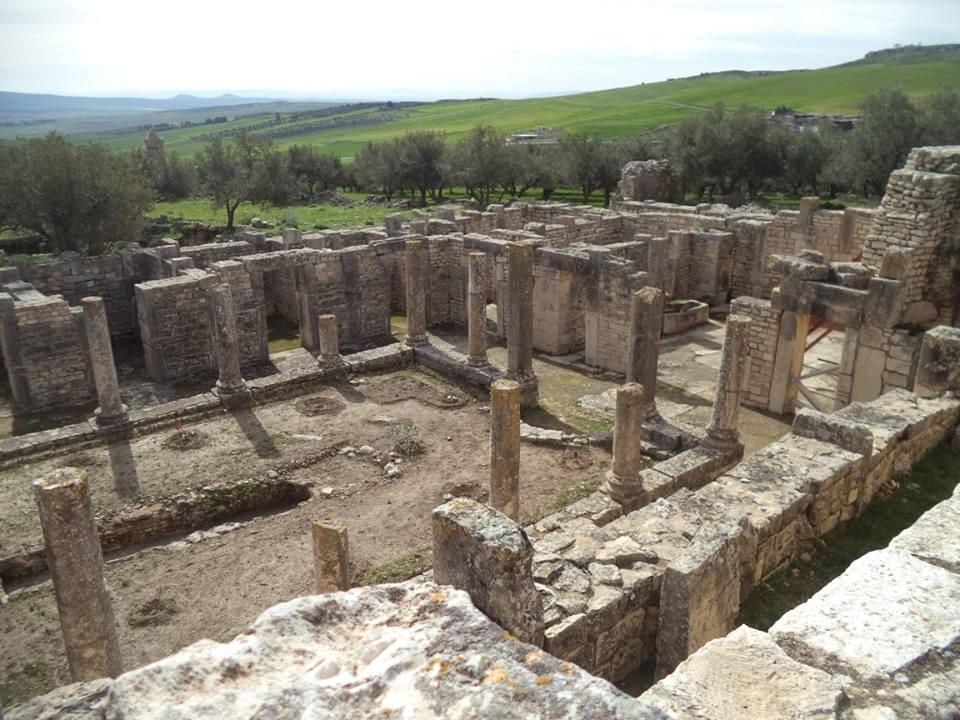 SÍTIO ARQUEOLÓGICO DOUGGA NA TUNISIA 9