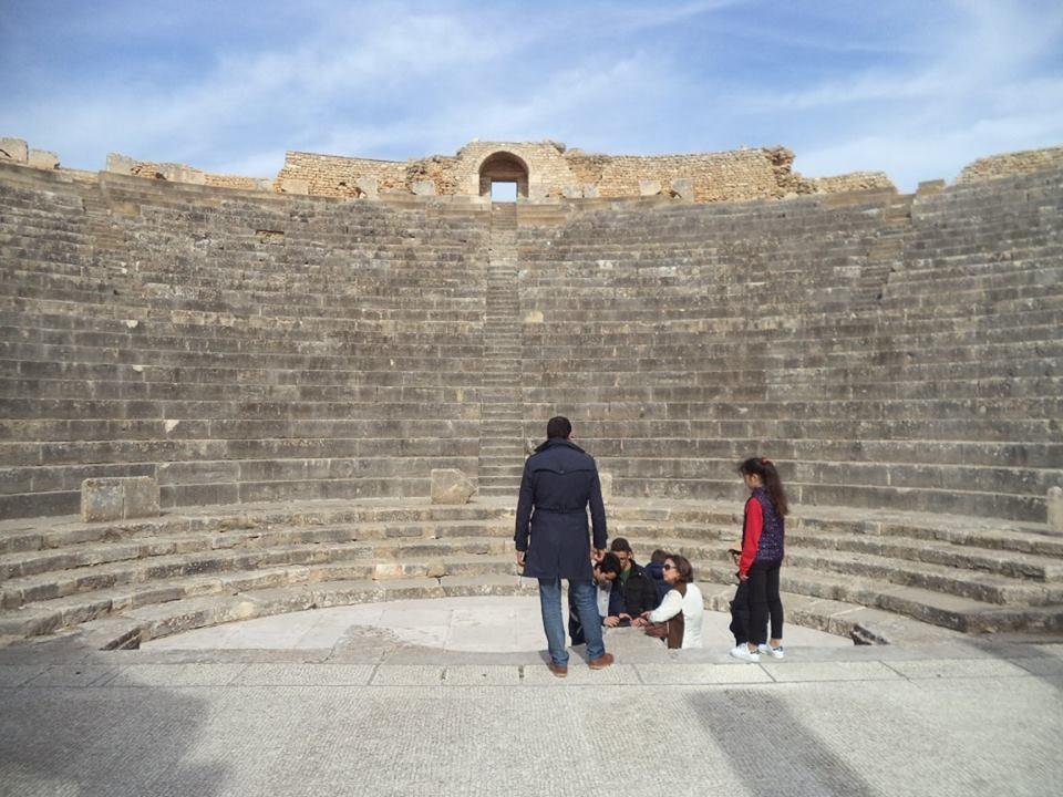 SÍTIO ARQUEOLÓGICO DOUGGA NA TUNISIA 1