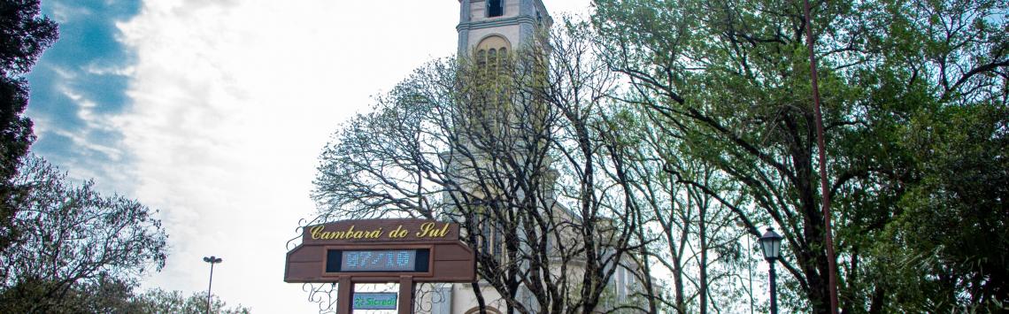 CENTRO de cambará do sul Igreja Matriz São José