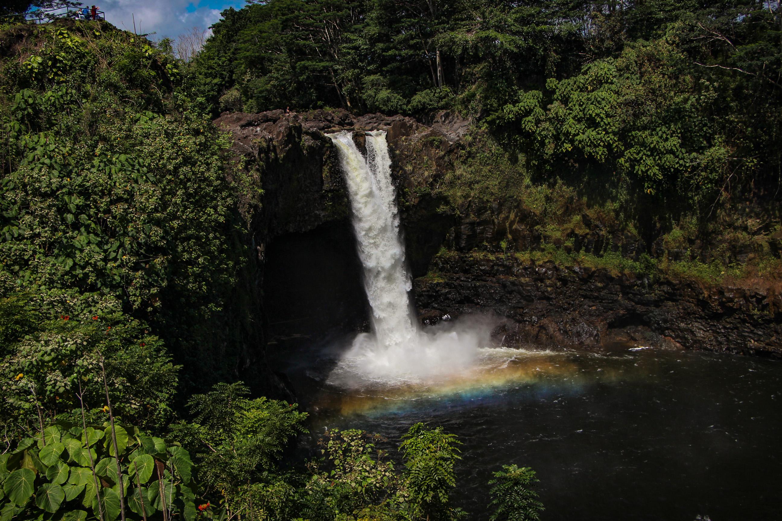 BIG ISLAND, Rainbow Falls