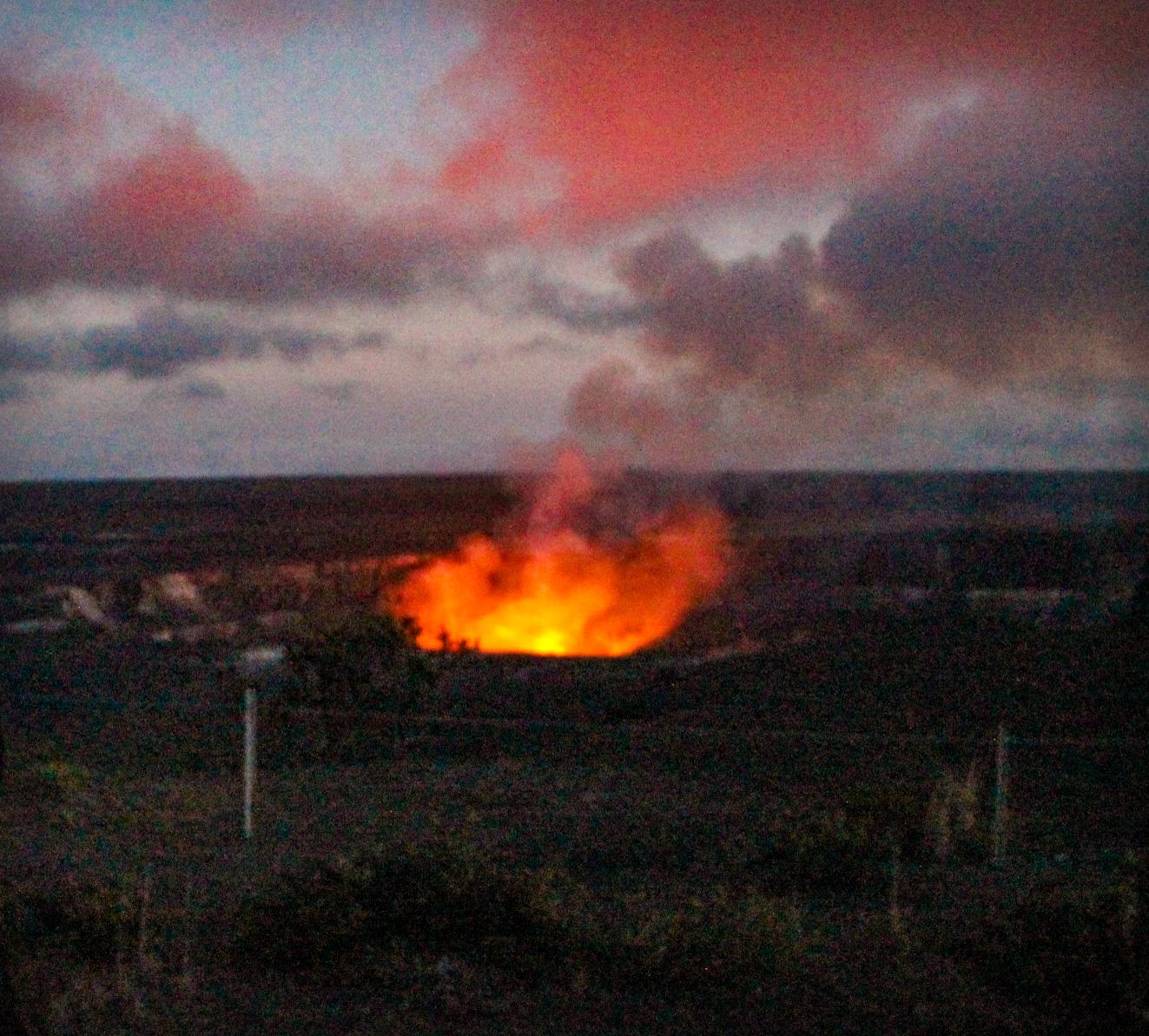 BIG ISLAND, Vulcão Kilauea (semanas antes da erupção em 2018)