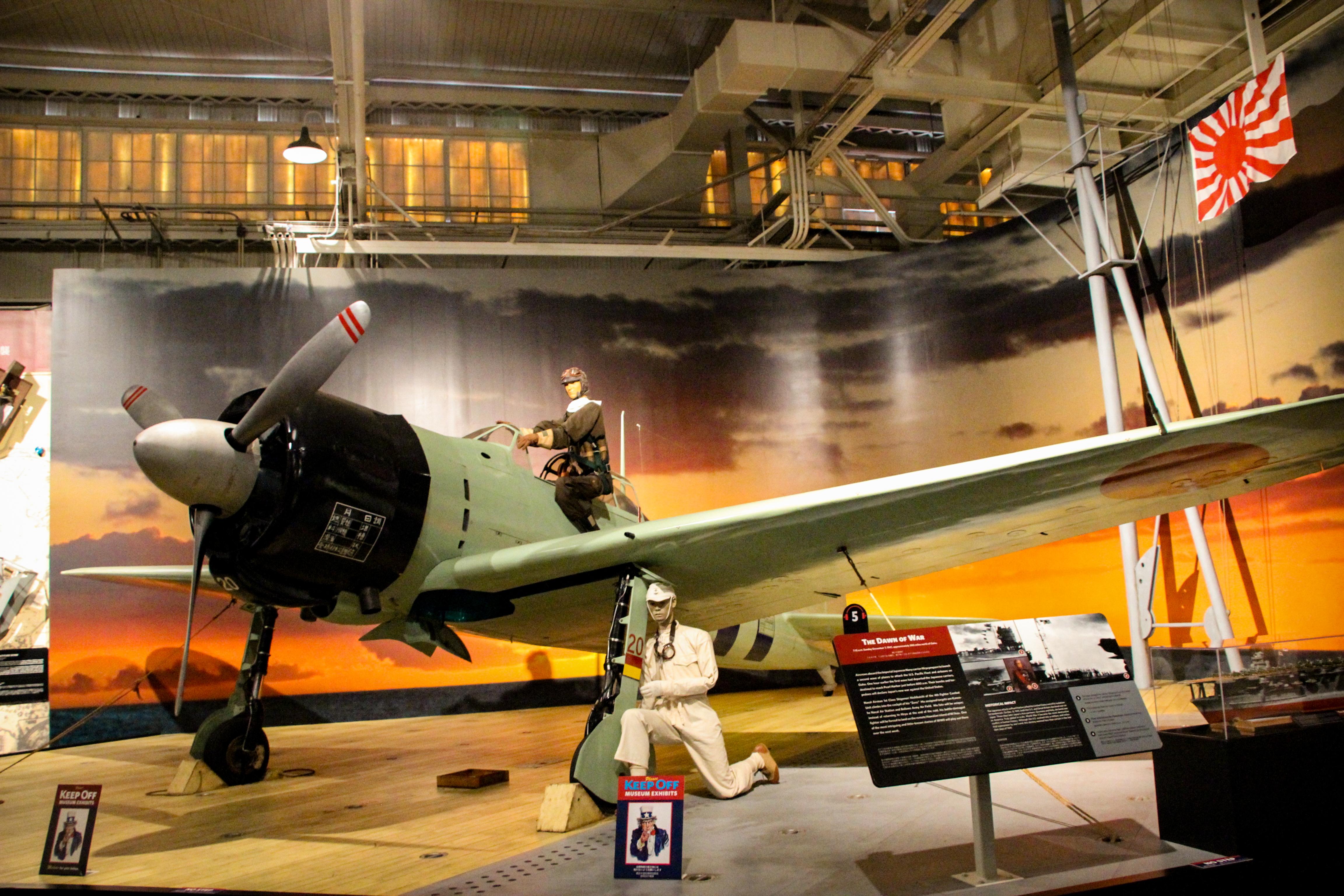 PEARL HARBOR: Avião japonês Zero