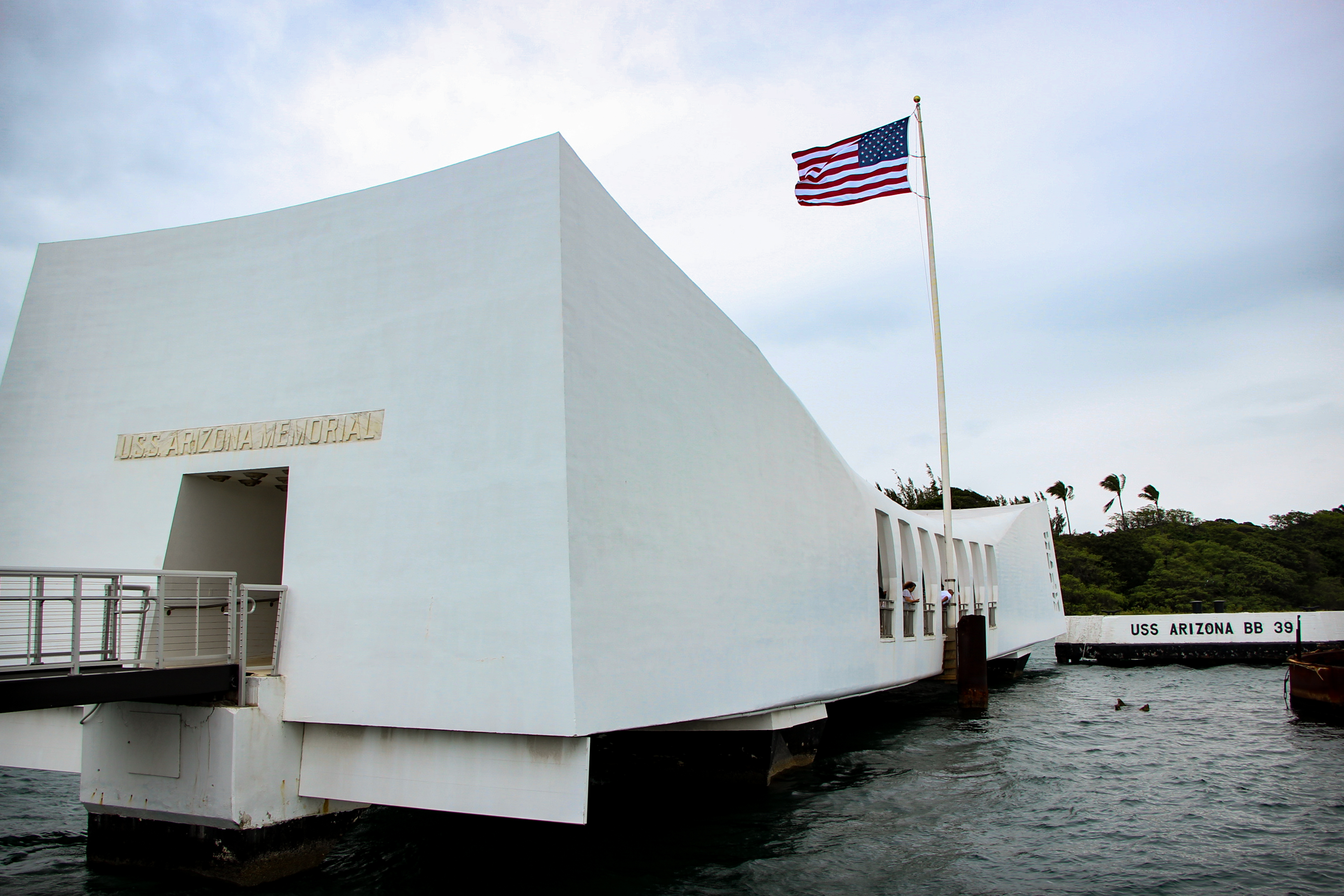 PEARL HARBOR: USS Arizona Memorial