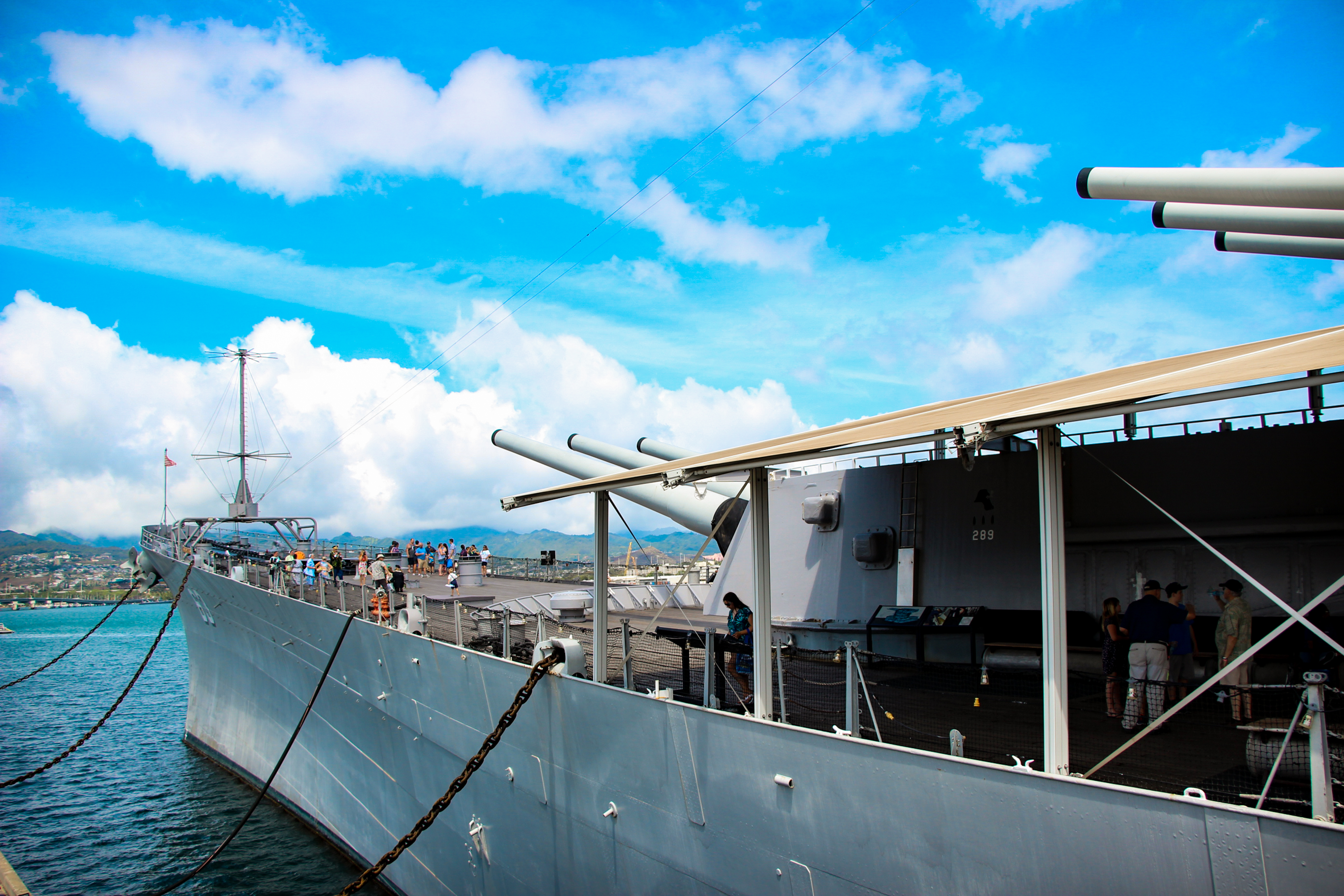 PEARL HARBOR: Battleship Missouri Memorial Museum