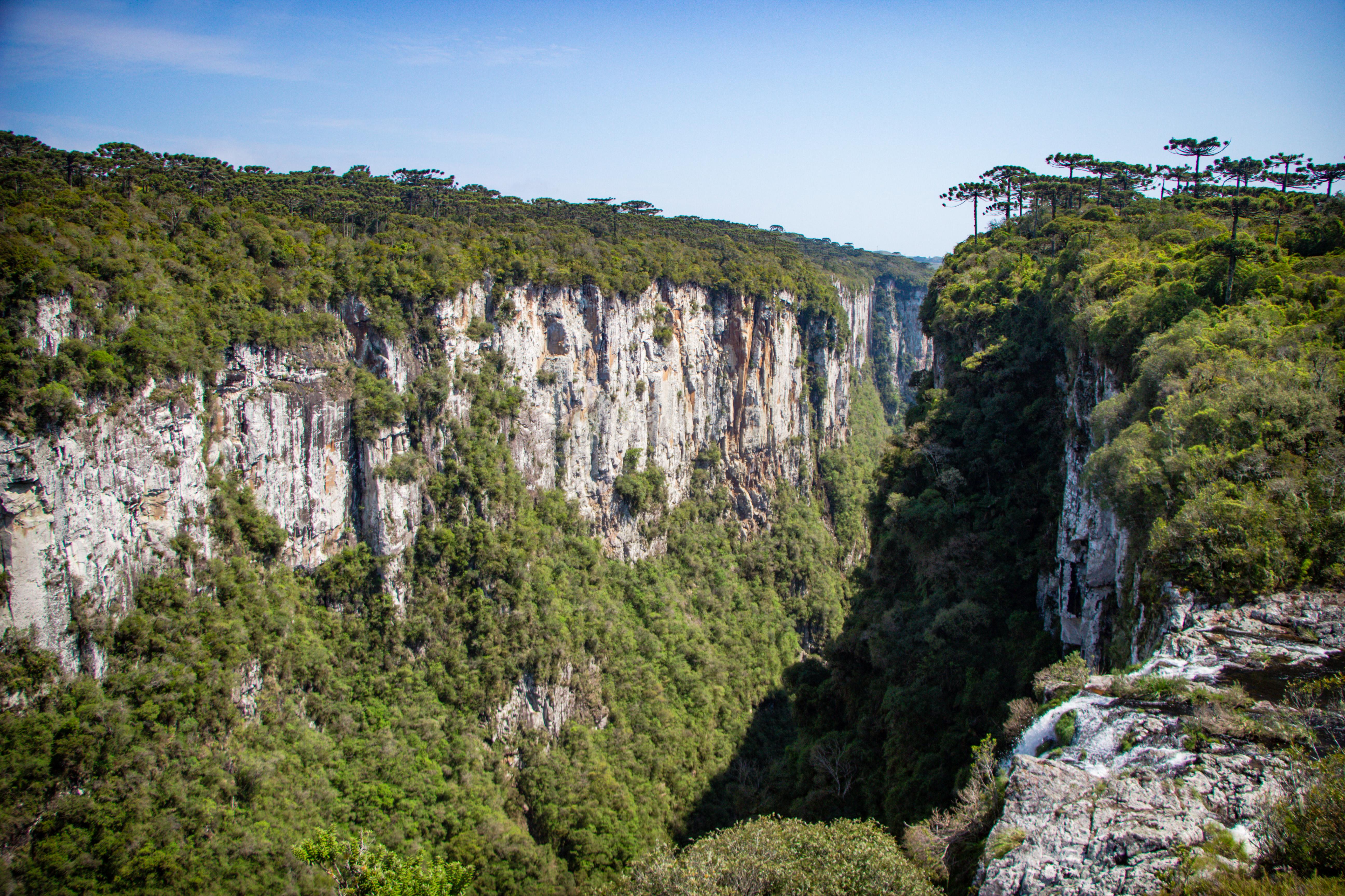 CÂNION ITAIMBEZINHO Mirante Cascata das Andorinhas