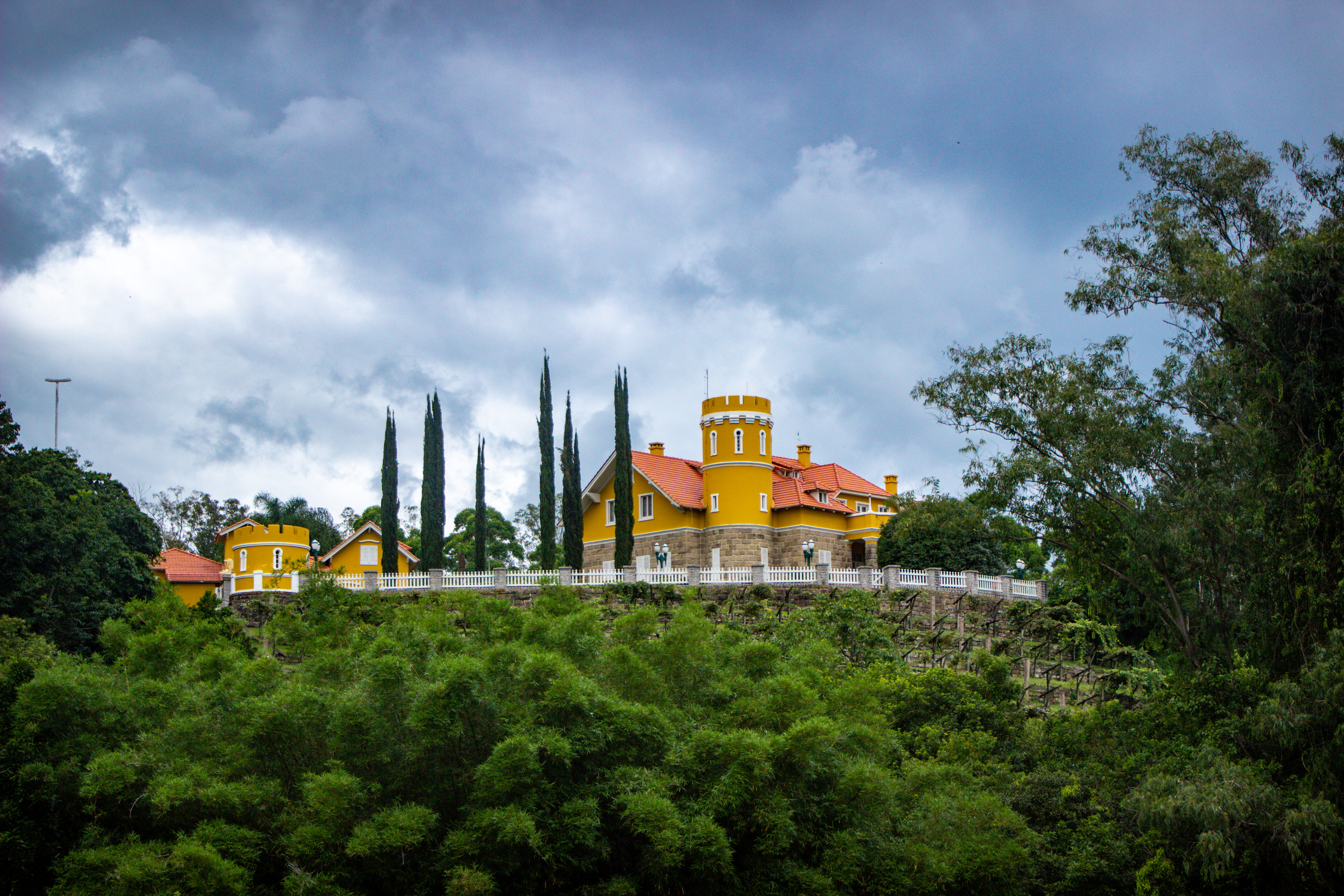 LAURO MULLER, Castelo Henrique Lage