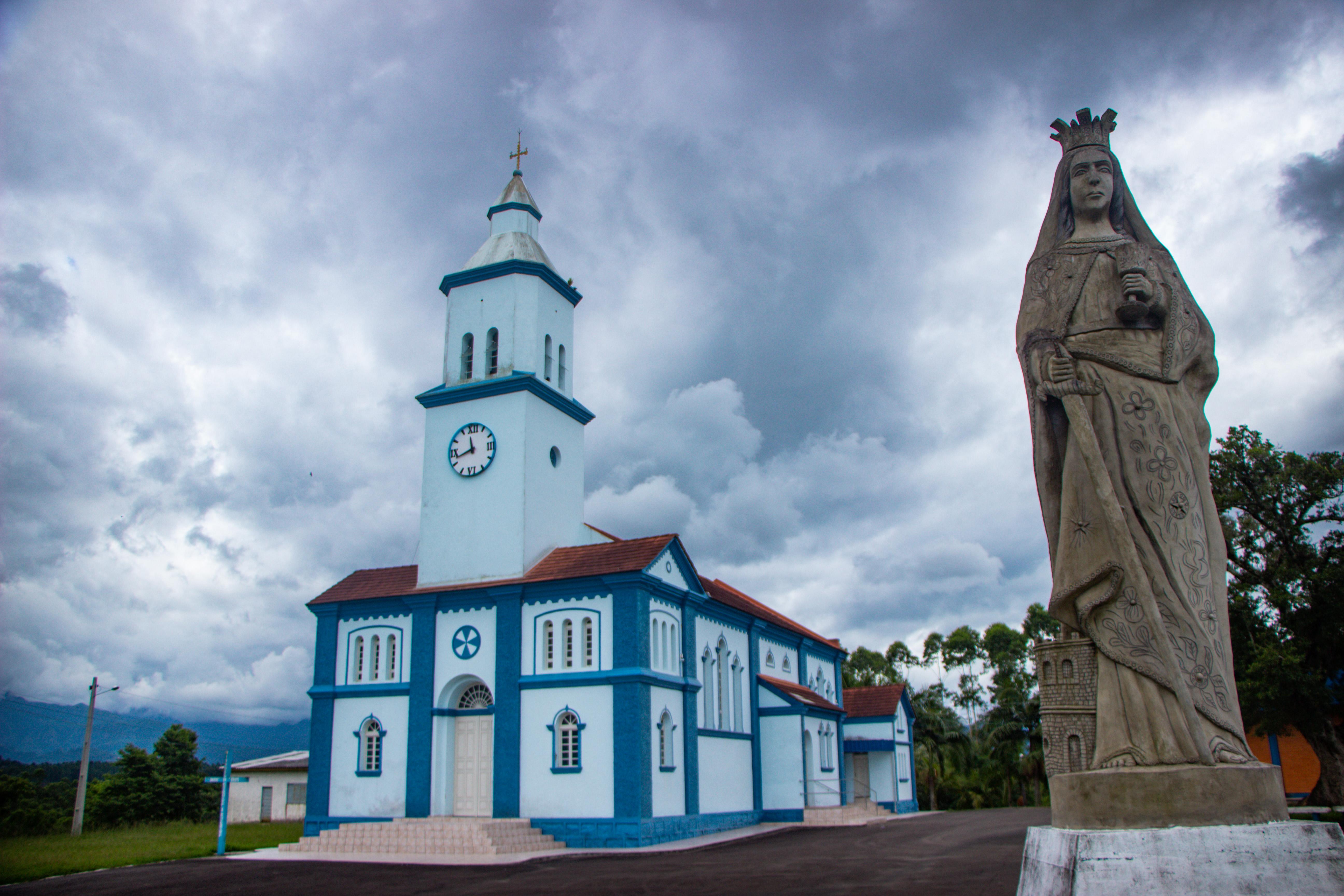 LAURO MULLER, Igreja Santa Bárbara