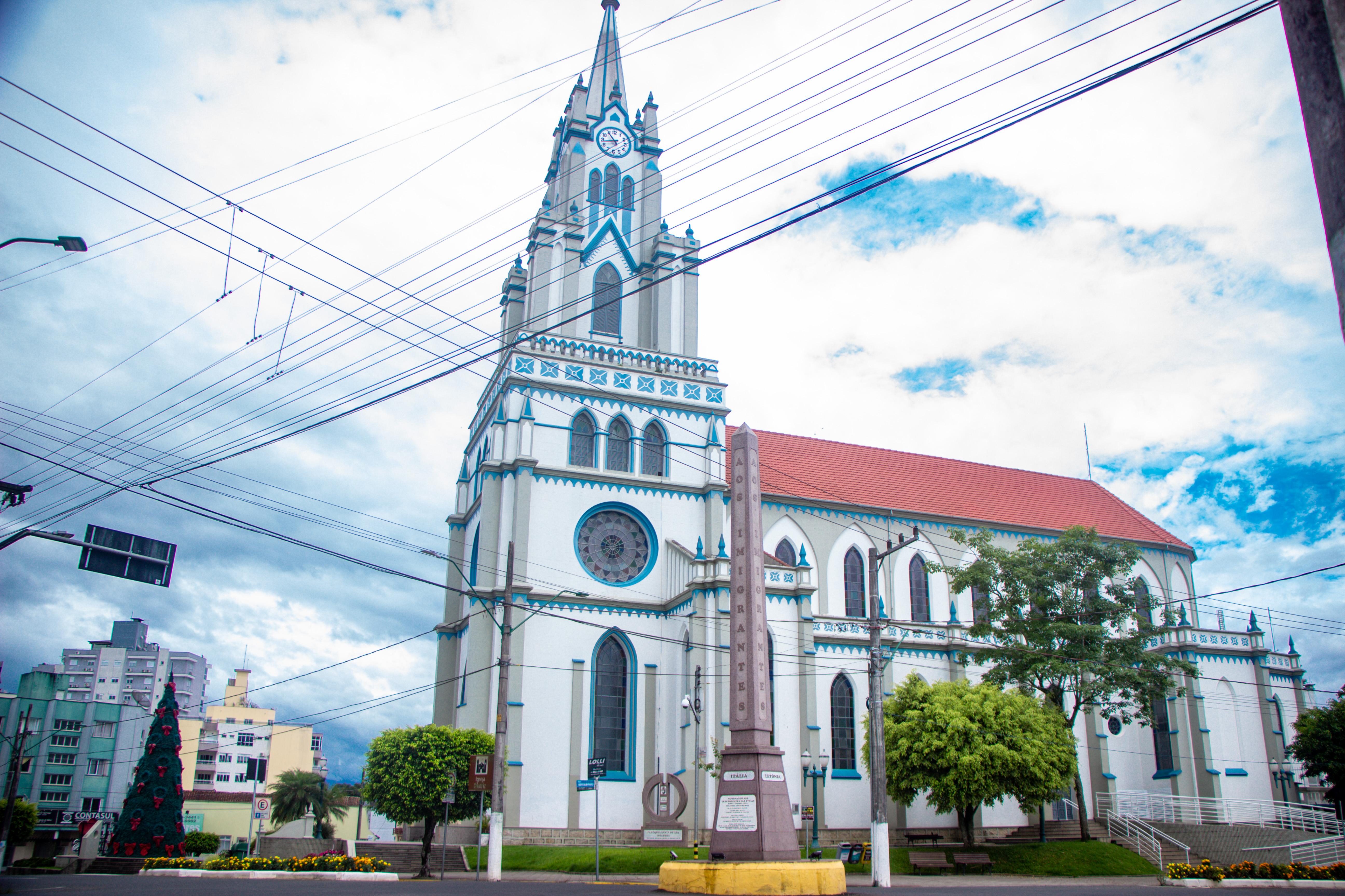 ORLEANS, Igreja Matriz Santa Otília