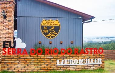 LAURO MULLER, CAMINHO PARA SERRA DO RIO DO RASTRO 2