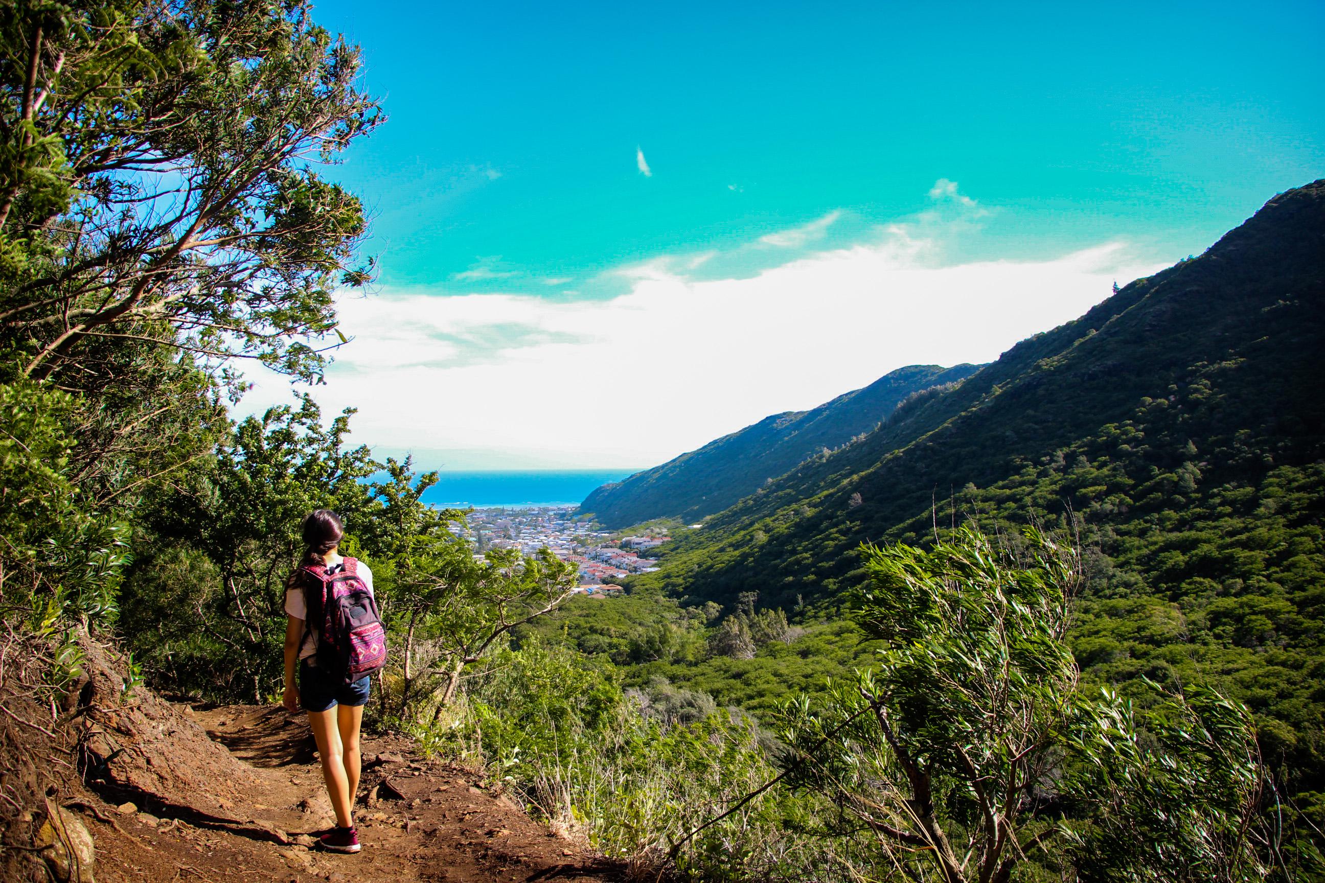 TRILHAS EM OAHU, Kuliouou Ridge Trail